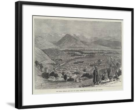 The Bala Hissar and City of Cabul, from the Upper Part of the Citadel-Thomas Harrington Wilson-Framed Art Print