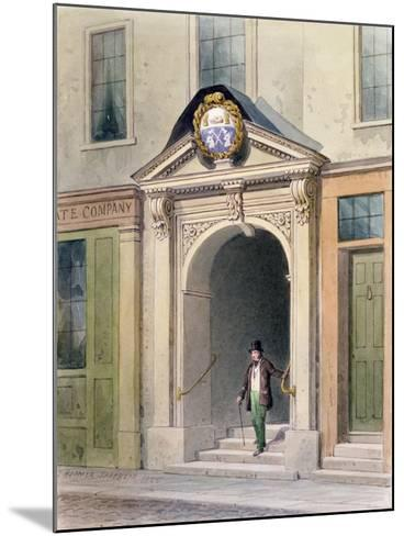 The Entrance to Butchers' Hall, 1855-Thomas Hosmer Shepherd-Mounted Giclee Print