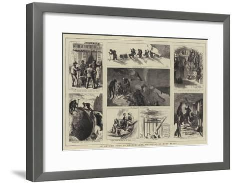 An Autumn Tour in Switzerland, VII, Climbing Mont Blanc-Sydney Prior Hall-Framed Art Print