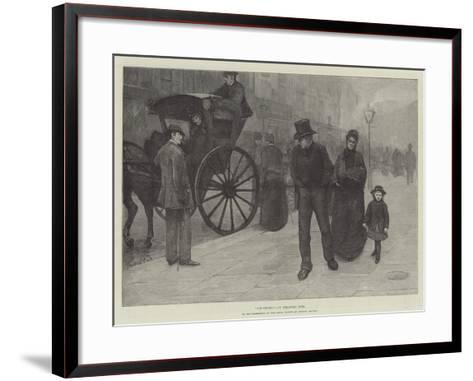 Old Chums, in the Exhibition of the Royal Society of British Artists-Theodore Flavel Cook-Framed Art Print