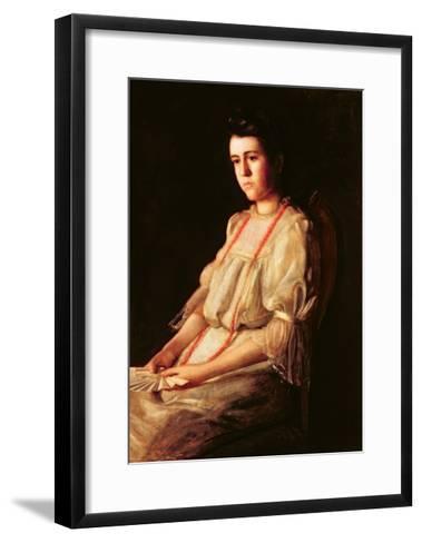 The Coral Necklace, 1904-Thomas Cowperthwait Eakins-Framed Art Print