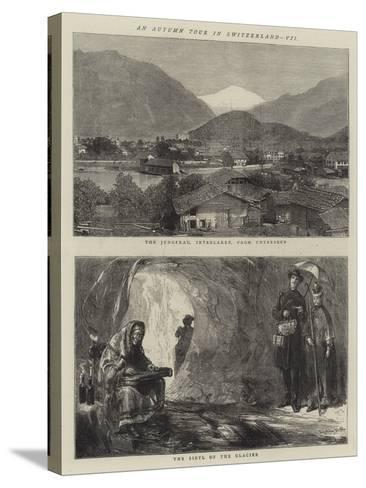 An Autumn Tour in Switzerland, VII-Sydney Prior Hall-Stretched Canvas Print