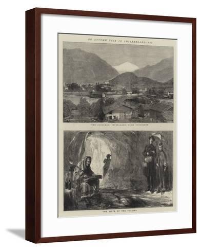 An Autumn Tour in Switzerland, VII-Sydney Prior Hall-Framed Art Print