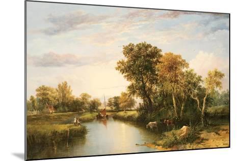 The Thames Valley, 1823-Thomas Miles Richardson-Mounted Giclee Print