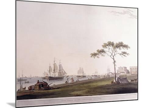 View Taken on the Esplanade, Calcutta, 1797-Thomas Daniell-Mounted Giclee Print