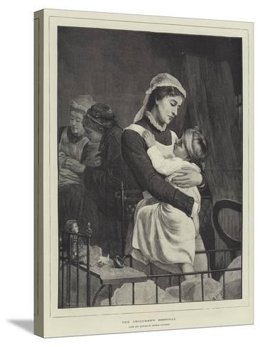 The Children's Hospital-Thomas Davidson-Stretched Canvas Print