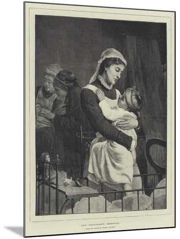 The Children's Hospital-Thomas Davidson-Mounted Giclee Print