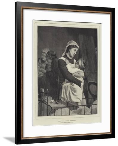 The Children's Hospital-Thomas Davidson-Framed Art Print
