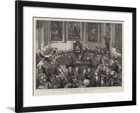A Holiday in the Channel Islands-Sydney Prior Hall-Framed Art Print