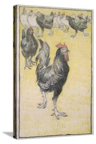 Cockerel-Theophile Alexandre Steinlen-Stretched Canvas Print