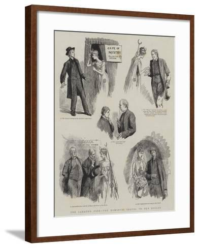The Curate's Fate, the Romantic Sequel to Our Bazaar-Sydney Prior Hall-Framed Art Print