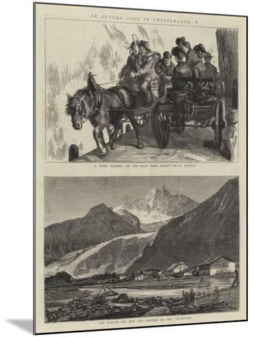 An Autumn Tour in Switzerland, X-Sydney Prior Hall-Mounted Giclee Print