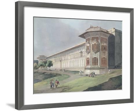 Cotsea Bhaug on the River Jumna at Delhi-Thomas & William Daniell-Framed Art Print