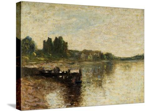 Kirkcudbright Castle-Thomas Edwin Mostyn-Stretched Canvas Print