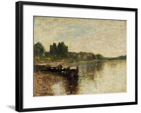 Kirkcudbright Castle-Thomas Edwin Mostyn-Framed Art Print
