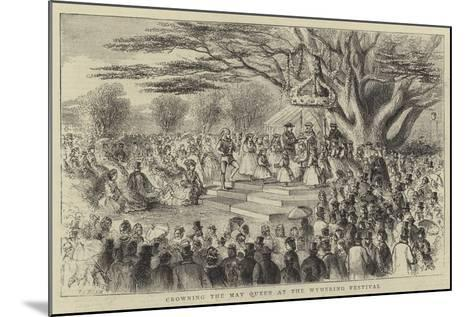 Crowning the May Queen at the Wymering Festival-Thomas Harrington Wilson-Mounted Giclee Print