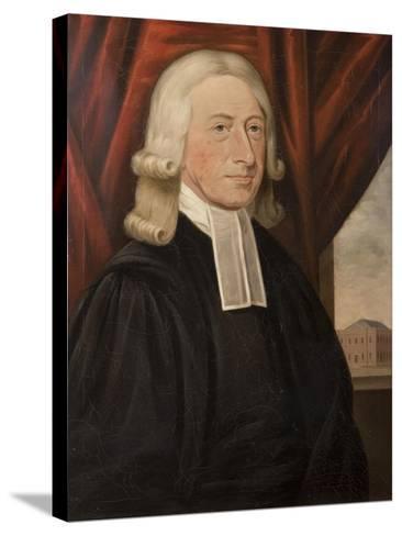 Rev. John Wesley-Thomas Horsley-Stretched Canvas Print