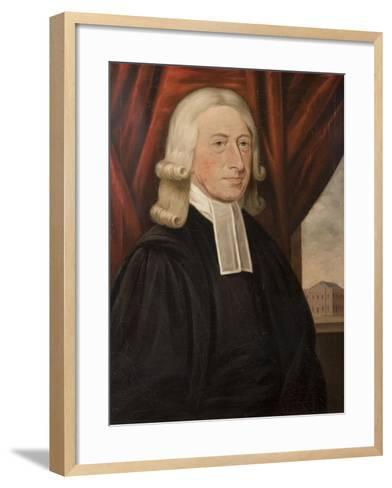 Rev. John Wesley-Thomas Horsley-Framed Art Print