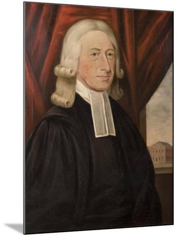 Rev. John Wesley-Thomas Horsley-Mounted Giclee Print