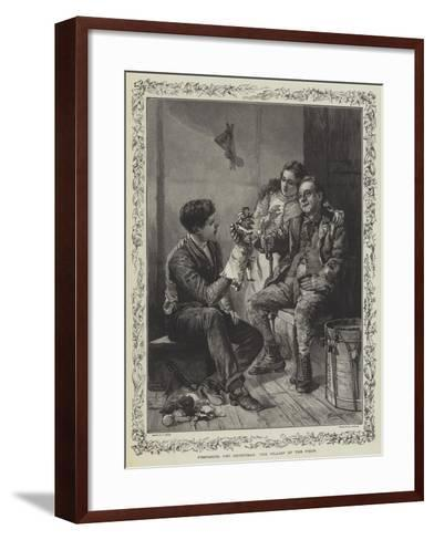 Preparing for Christmas, the Villain of the Piece-T. Taylor-Framed Art Print