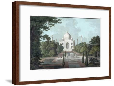 View of Taj Mahal, 1801-Thomas & William Daniell-Framed Art Print
