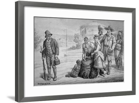 The Scapegrace of the Family, 'St. Stephen's Review Presentation Cartoon', May 15th 1886-Tom Merry-Framed Art Print