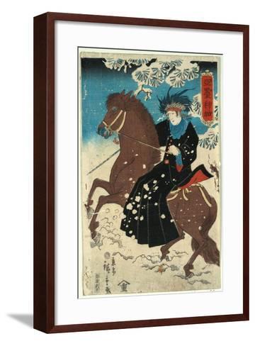 Amerika-Utagawa Hiroshige-Framed Art Print