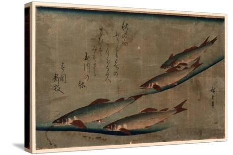 Ayu Zu-Utagawa Hiroshige-Stretched Canvas Print