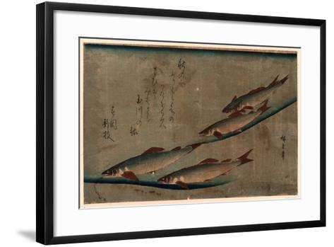 Ayu Zu-Utagawa Hiroshige-Framed Art Print