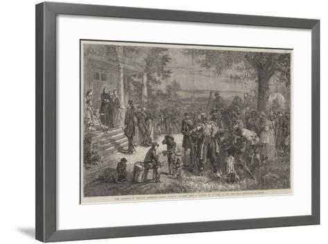 An Incident of General Sherman's March Through Georgia-Thomas Nast-Framed Art Print