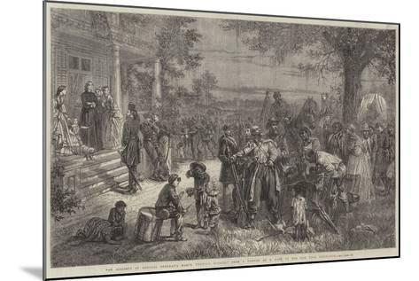 An Incident of General Sherman's March Through Georgia-Thomas Nast-Mounted Giclee Print