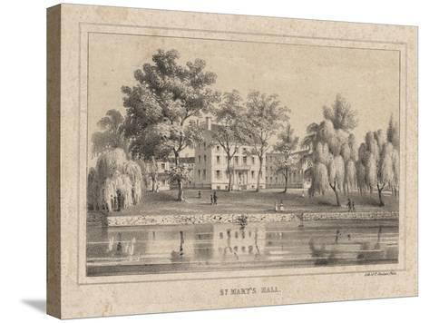 St. Mary's Hall, 1850-Thomas S. Sinclair-Stretched Canvas Print