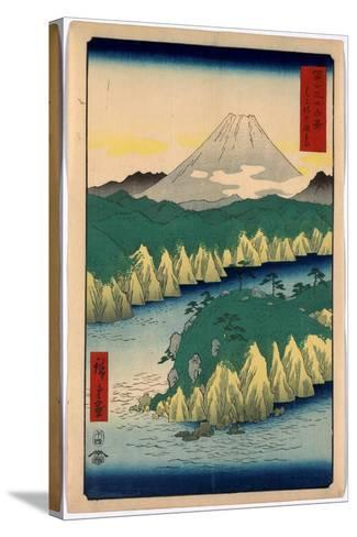Hakone No Kosui-Utagawa Hiroshige-Stretched Canvas Print