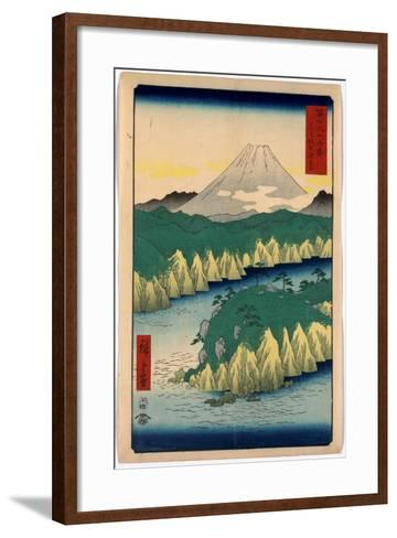 Hakone No Kosui-Utagawa Hiroshige-Framed Art Print