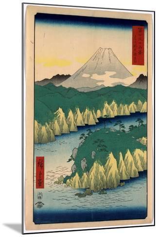 Hakone No Kosui-Utagawa Hiroshige-Mounted Giclee Print