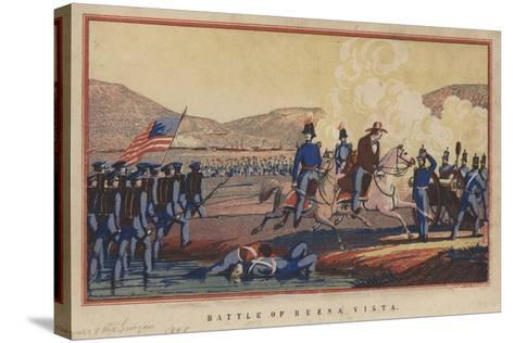 Battle of Buena Vista, 1848-Thomas S. Wagner-Stretched Canvas Print