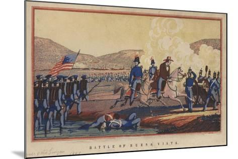 Battle of Buena Vista, 1848-Thomas S. Wagner-Mounted Giclee Print