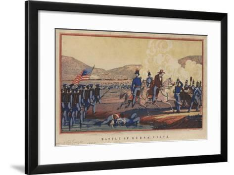 Battle of Buena Vista, 1848-Thomas S. Wagner-Framed Art Print
