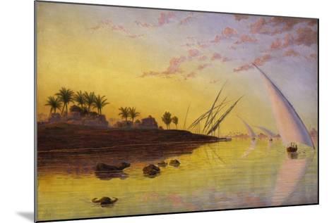 View on the Nile, 1855-Thomas Seddon-Mounted Giclee Print