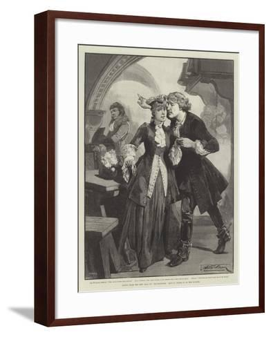 Scene from the New Play of Ravenswood, at the Lyceum-Thomas Walter Wilson-Framed Art Print