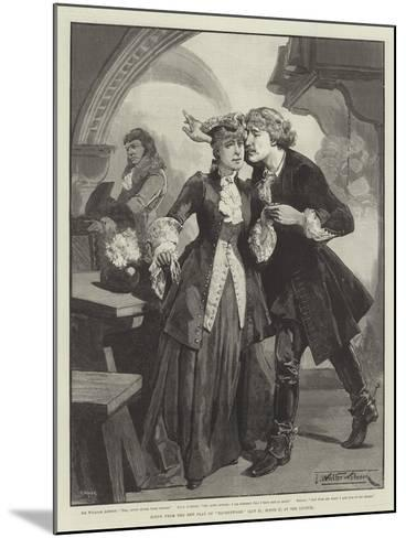 Scene from the New Play of Ravenswood, at the Lyceum-Thomas Walter Wilson-Mounted Giclee Print
