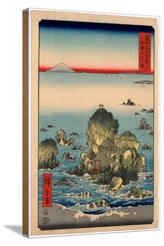Ise Futamigaura-Utagawa Hiroshige-Stretched Canvas Print