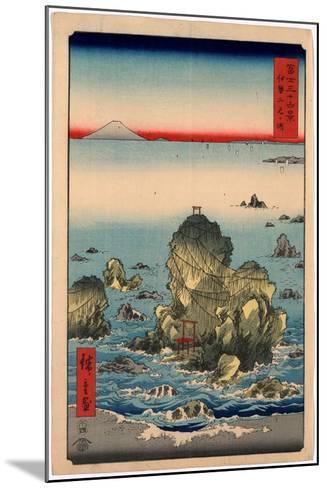 Ise Futamigaura-Utagawa Hiroshige-Mounted Giclee Print