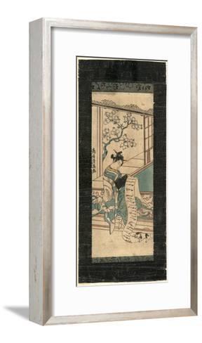 Fumi Yomu Yujo-Torii Kiyomitsu-Framed Art Print