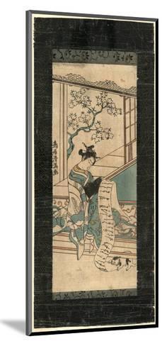 Fumi Yomu Yujo-Torii Kiyomitsu-Mounted Giclee Print