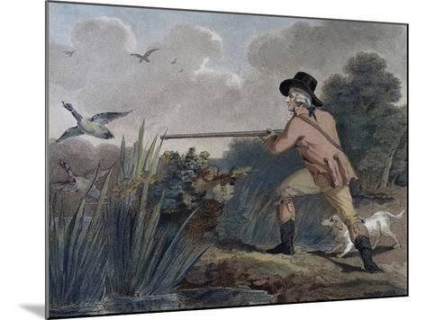 Duck Hunting, 1790-Thomas Simpson-Mounted Giclee Print