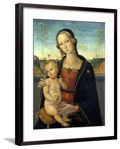 Madonna and Child, C.1500-Tiberio D'assisi-Framed Art Print