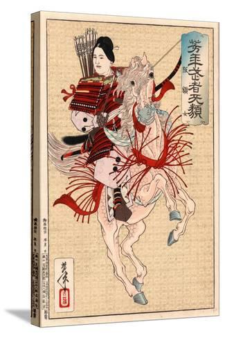 Hangakujo-Tsukioka Yoshitoshi-Stretched Canvas Print