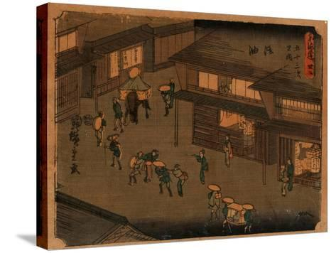 Goyu-Utagawa Hiroshige-Stretched Canvas Print