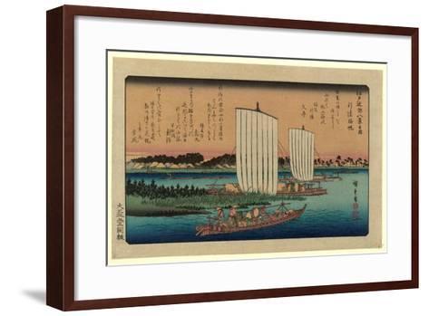 Gyotoku No Kihan-Utagawa Hiroshige-Framed Art Print